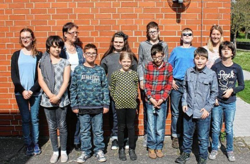 """Klasse Kids"": Auch blinde Schüler der Schloss-Schule Ilvesheim haben am Leserförderprojekt des ..."