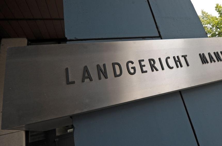 Das Landgericht in Mannheim.