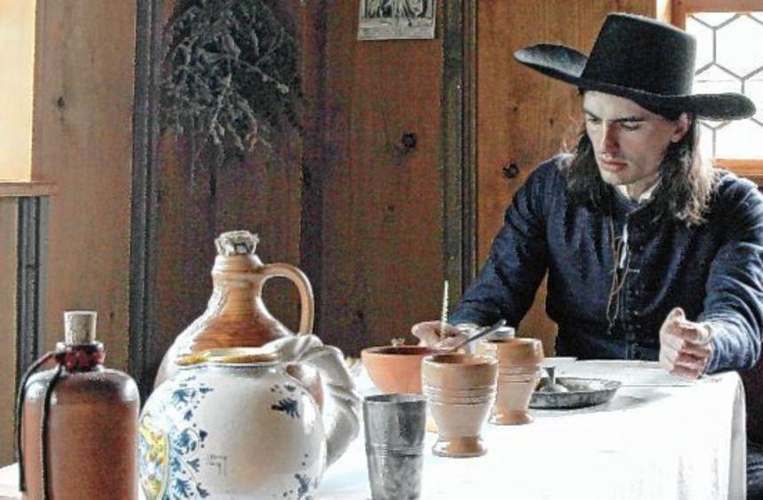 Das Leben vor 400 Jahren wird im Hohenloher Freilandmuseum auch mit alltäglichen Dingen vermittelt.