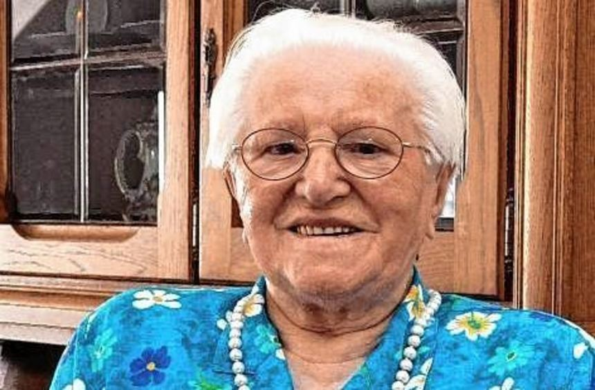 Antonia Grein war bis ins hohe Alter begeisterter Heino-Fan.