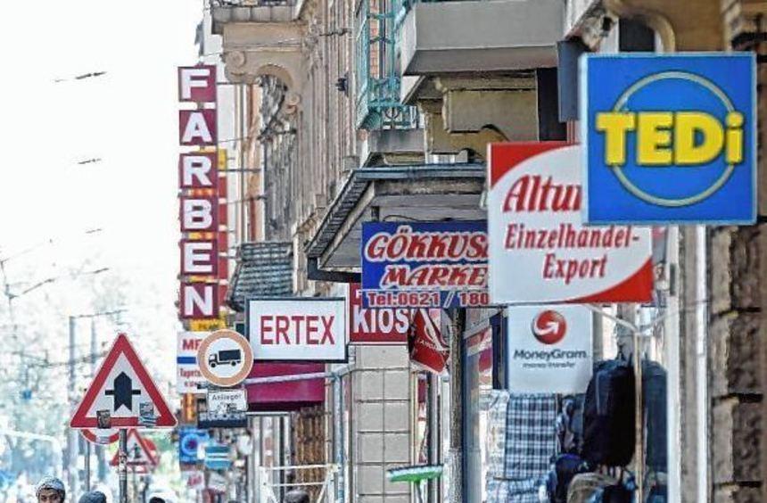 Die Mittelstraße lässt als Einkaufsmeile zu wünschen übrig.