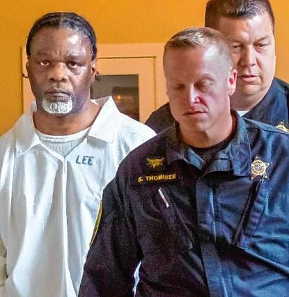Der verurteilte Mörder Ledell Lee (l.) kurz vor seiner Hinrichtung.