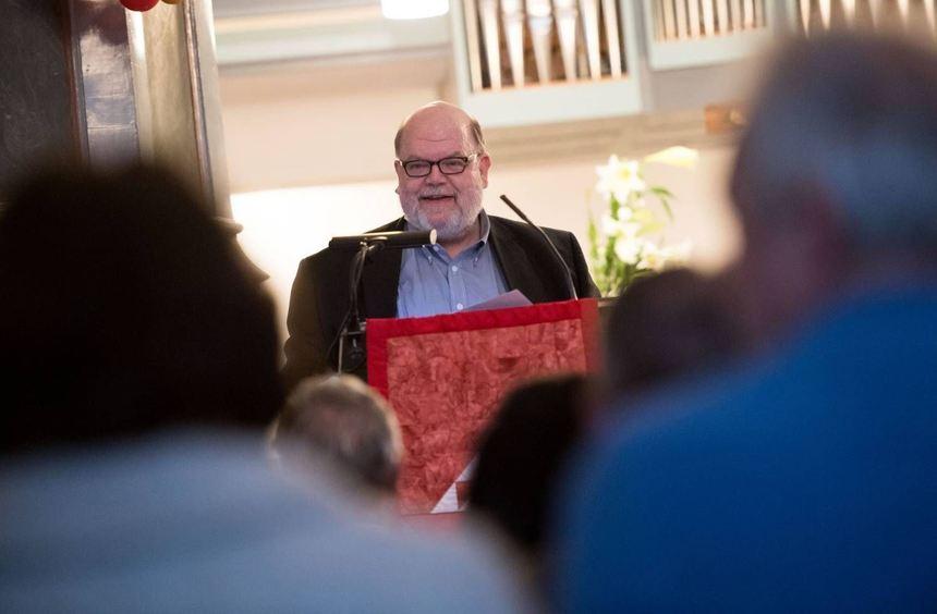 Tag der Literatur: Peter Brunner stellte in der Evangelischen Bergkirche Leben und Werk von ...