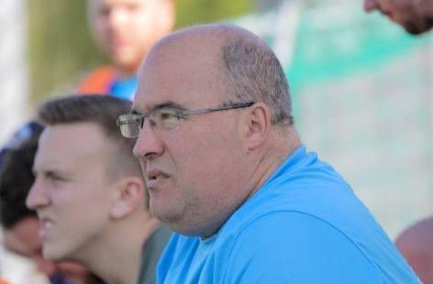 """Azzurri-Trainer Martin Göring erwartet beim Gastspiel in Kirschhausen """"heftige Gegenwehr""""."""