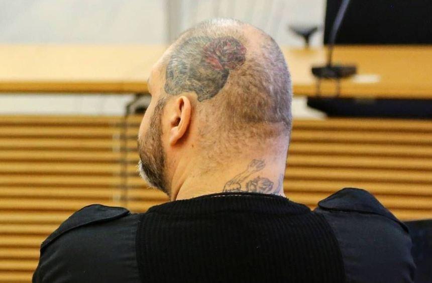 Christian Hehl beim Prozessbeginn am 5. Mai im Amtsgericht. Gestern saß er wegen gesundheitlicher ...