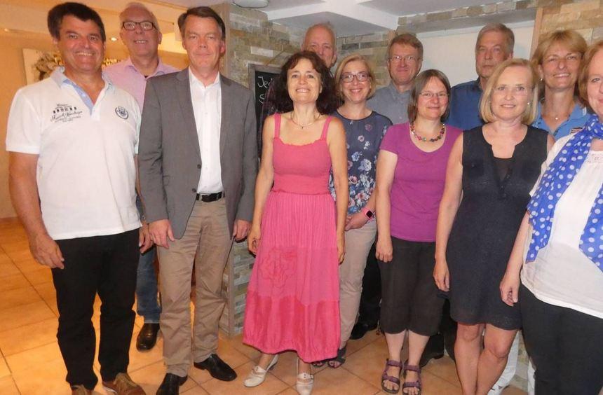 Der neue Vorstand (v. l.) hat sich für die kommende Konzertsaison viel vorgenommen: Günther ...
