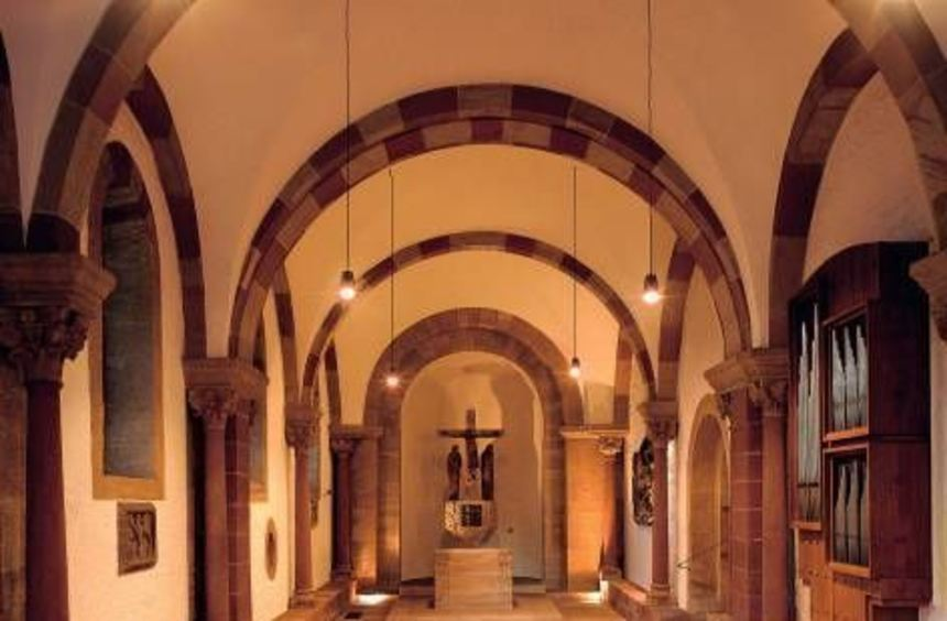 Eine der wenigen erhaltenen Kapellen im Dom: die Afrakapelle.