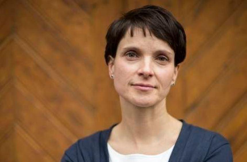 Frauke Petry, die Bundesvorsitzende der AfD.