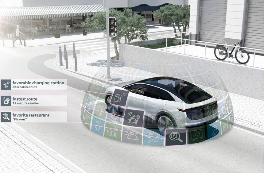 mid Groß-Gerau - Autobauer mit Visionen: Der Volkswagen-Konzern engagiert sich aktiv für ...