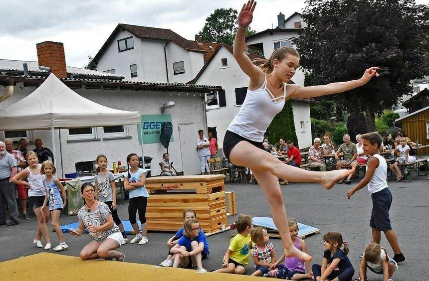 Breites Programm Mit Turnen Und Tanz Bergstrasser Anzeiger