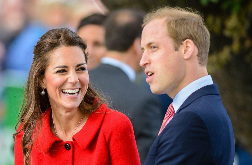 Prinz William und Herzogin Catherine scherzen beim Besuch in Christchurch (Neuseeland).