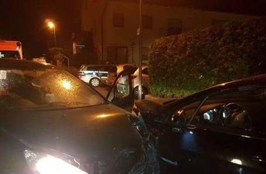 Insgesamt vier Autos waren nach dem Unfall nicht mehr fahrbereit.