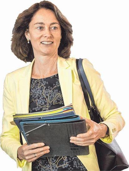 Bundesfamilienministerin Katarina Barley (SPD) ist erst seit sechs Wochen im neuen Amt.