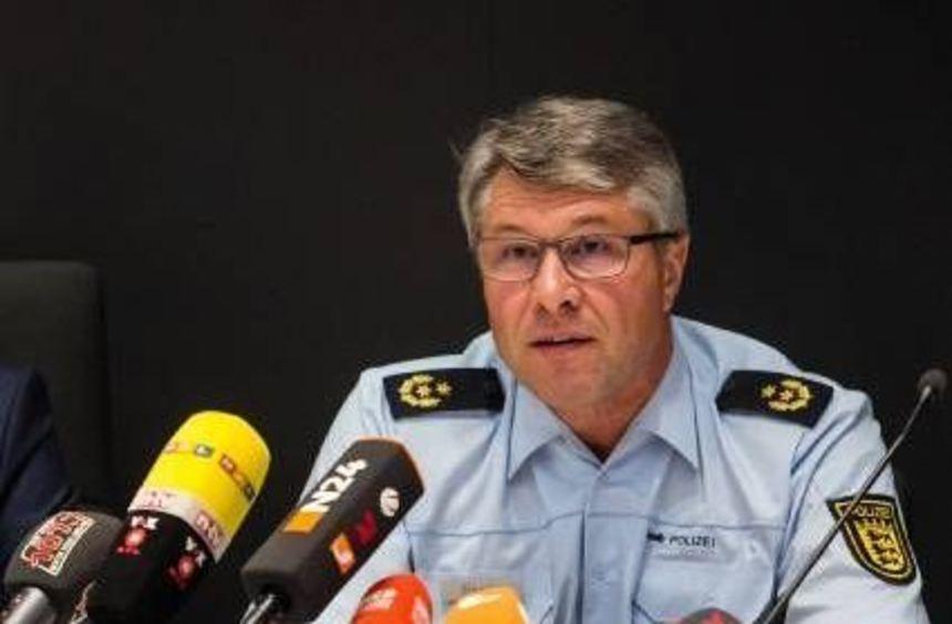 Roland Eisele, der Aalener Polizeipräsident.