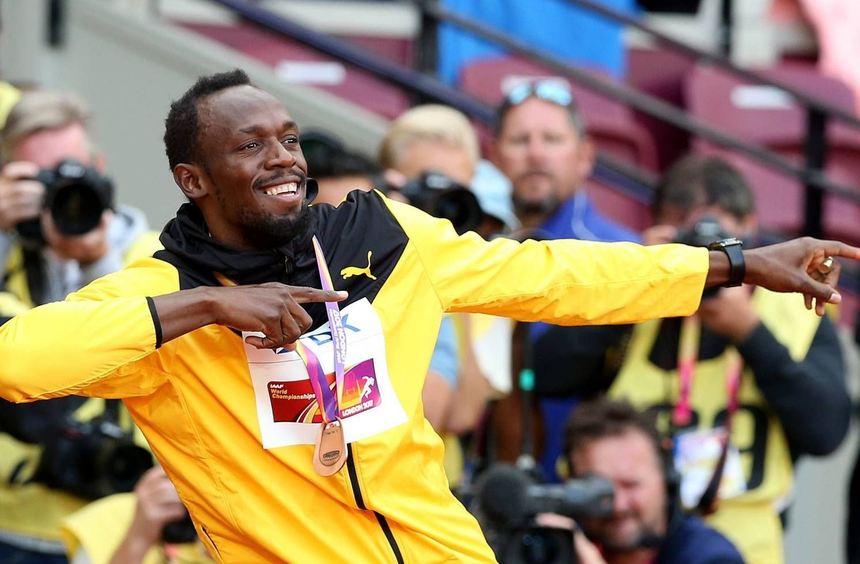 Usain Bolt gewann in London bereits Bronze über 100 m, jetzt soll es zum Abschluss Gold mit der ...