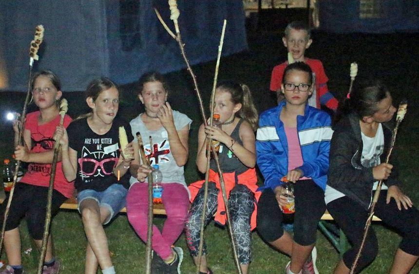 Im Rahmen des Ravensteiner Ferienprogramms veranstaltete der Musikverein Ballenberg eine ...
