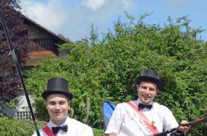Kevin Mohr und Florian Geschwind hielten die Kerweredd.