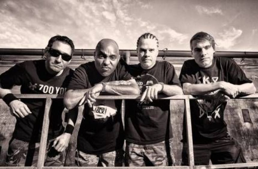 Die Band Dog Eat Dog (v.l.): Dave Neabore, Brandon Finley, John Connor und Dan Nastasi.