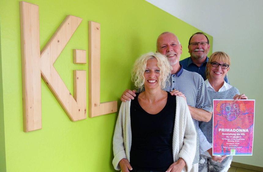 Heike Kissel-Eltrop (v.l.), Bernd Kalusche, Anette Jansen und Bernhard Hossner lassen den ...