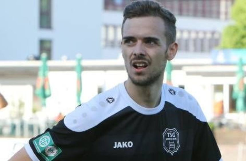 Nils Makan wechselte aus Weinheim nach Schwetzingen.
