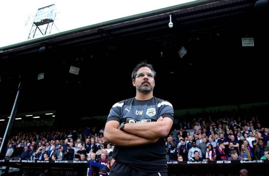 Trainer David Wagner feierte mit Huddersfield einen perfekten Start in die Premier-League-Saison.