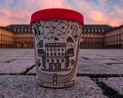 Künstler Mannheim becher schont die umwelt mannheimer morgen mannheimer morgen