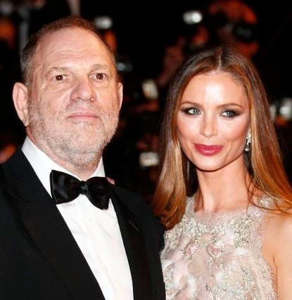 Harvey Weinstein und Georgina Chapman im Mai in Cannes.
