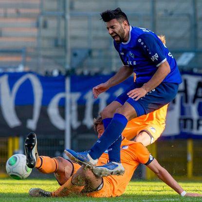 Seitdem Daniel di Gregorio wieder in der Startelf steht, geht es beim SV Waldhof aufwärts.