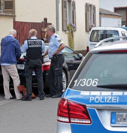 Ende August vergangenen Jahres in Sandhofen. Nach einem Überfall, einer Verfolgung und Schüssen ...