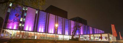 Spätestens 2023 gehen die Lichter aus, wenn es nicht saniert wird: Das 1957 eröffnete Spielhaus des ...