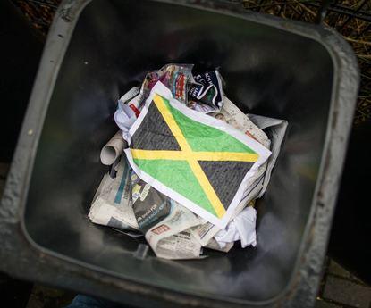 Das Ende der Jamaika-Sondierungen - ein Symbolbild aus Frankfurt.