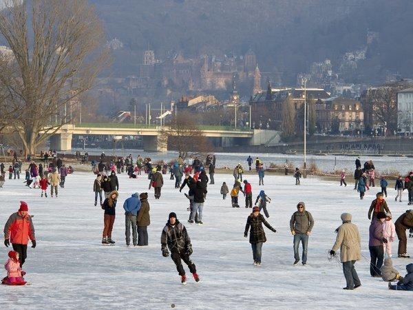 Schlittschuhlaufen Heidelberg