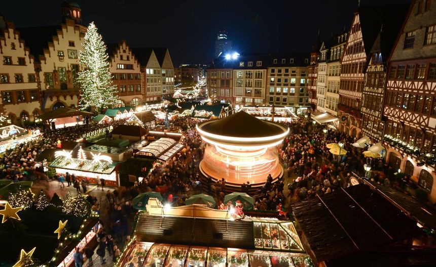 Frankfurter Weihnachtsmarkt.Frankfurter Weihnachtsmarkt Zieht Weniger Besucher An Mannheimer