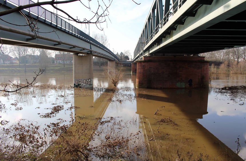 Hochwasser in der region mannheimer morgen mannheimer for Newsticker spiegel