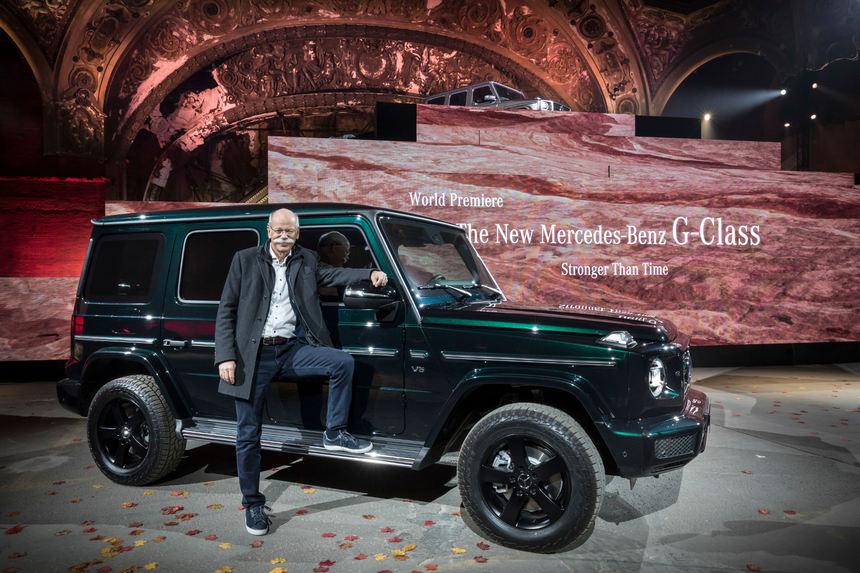 detroit auto show mercedes g klasse ganz neu auto. Black Bedroom Furniture Sets. Home Design Ideas
