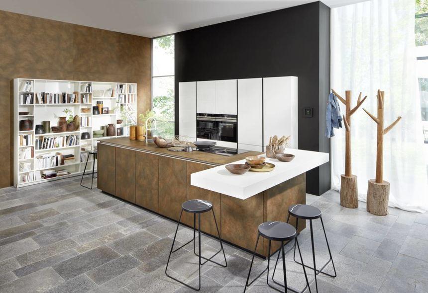 Grifflose Küchen Mit Kochinseln Liegen Im Trend U2013 Wie Hier Die Matrix Art  Von Nolte.