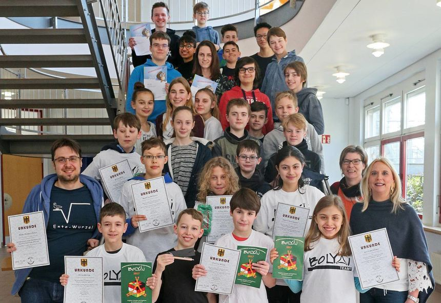 Sieger Informatik-Biber und Bolyai-Wettbewerb