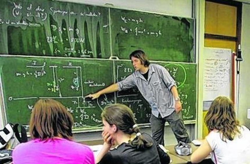 Die Lehrerversorgung an den Gymnasien lässt zu wünschen übrig.
