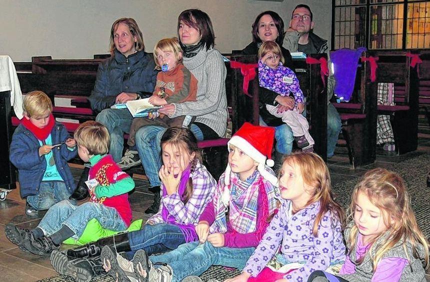Das Weihnachtsfest war Thema beim Minigottesdienst in Biblis.