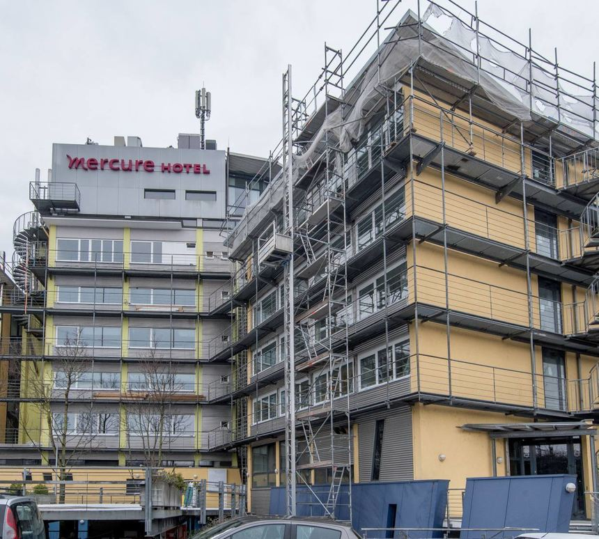 Mercure Hotel Mannheim Umbau