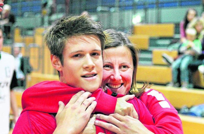 Matthias Junker und Trainerin Gordana Covic hätten gerne wieder ein Grund zum Jubeln. Warum nicht ...