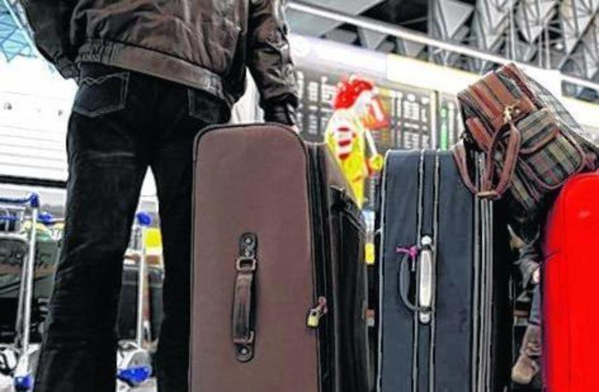 Auf Flugreisen können Koffer schon einmal verschwinden.