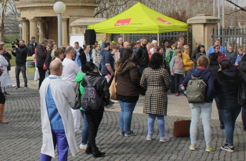 Streikende Fordern Mehr Personal Mannheimer Morgen