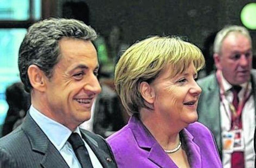 Haben sich durchgesetzt: Nicola Sarkozy und Angela Merkel.