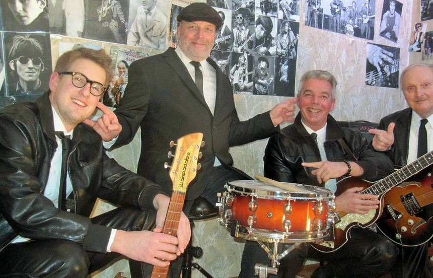 "Beatles- und Rock 'n' Roll-Klassiker gibt's am 20. April in Bovenzenweiler mit ""The 4 Beats""."