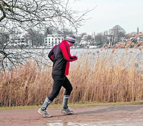 Bewegung ist gut für das Immunsystem – auch im Winter.