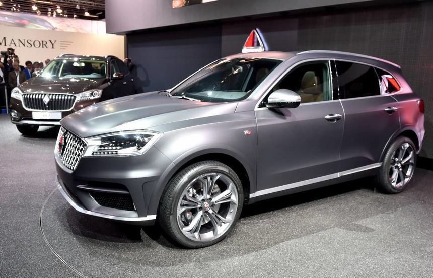 Ein Borgward BX7 TS auf der Internationalen Automobilmesse IAA 2015 in Frankfurt. Die Marke war ...