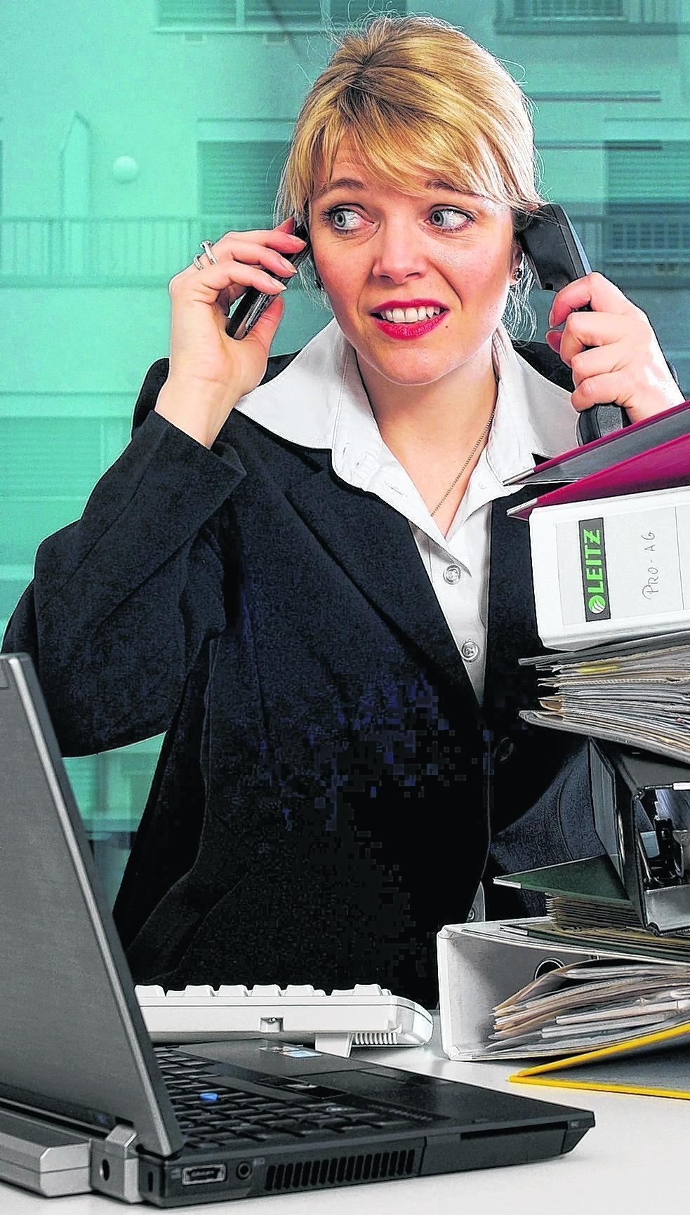 Stress auf allen Kanälen? Das ist im Arbeitsalltag nicht nur ungesund, sondern meist auch nicht besonders effektiv.