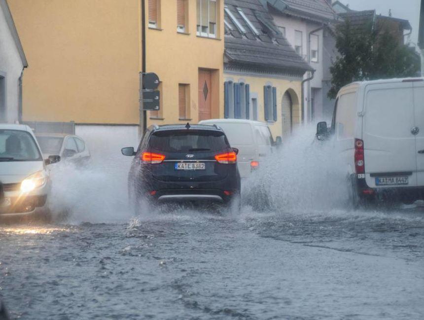 Unwetter Karlsruhe Gestern