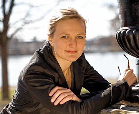 """Ihr """"Lieblings-Fleckchen Erde"""" ist die Parkinsel: Franziska Brantner."""